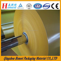PET/PVC/PE/kraft paper laminated PE Coated Paper For Sale