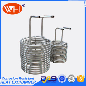 Economical coil type heat exchanger,coiled tube heat exchanger,cold room condenser unit