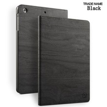 High quality new design made in China tree texture tablet case for ipad air -black color