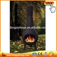 Prairie Style Wood Burning Solid Cast Iron Chimney