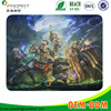 Hot custom heat transfer printing League of Legends mouse pad 100% rubber