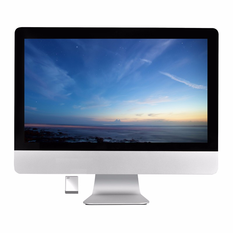 21 Inch LCD PC Monitor All In one Monitor for Computer Card