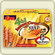 Owl 4 in 1 Instant Cereal with Oat