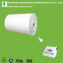 sugar paper roll with single side PE coated