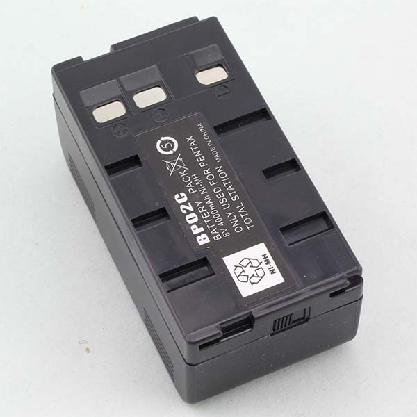 Pentax 6V 4000mAh BP02C Battery for Total Station