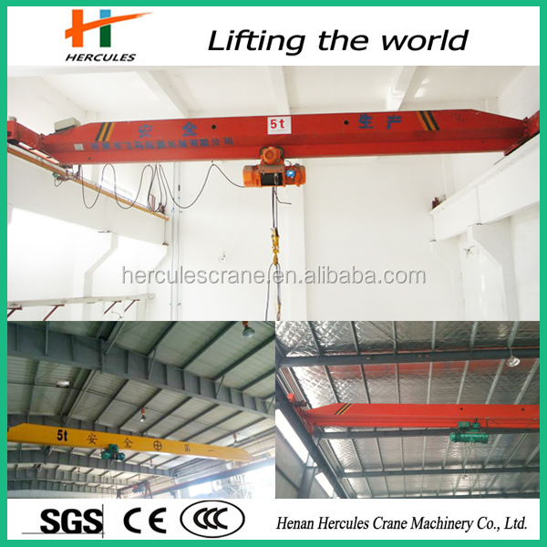 New Type 10 Ton Overseas Service Single Track Light Dutr Rail Bridge Crane Price For Sale