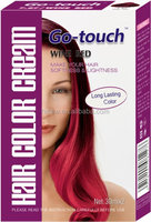 Classic Cream Formula Semi Permanent Hair Color Dye Cream