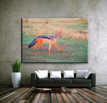 Wholesale fox wild animal canvas art printing painting with low price