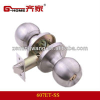 quick ball lock coupling 201SS tubular knob lock