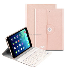 hot sale 360 rotating bluetooth keyboard cover case for ipad mini 1 2 3
