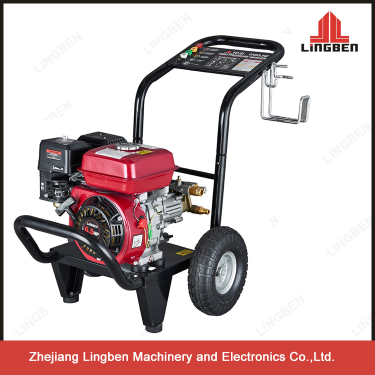 5.5HP 4-stroke Gas Engine Car Washer Jet High Pressure Cleaning Machine LB-170B
