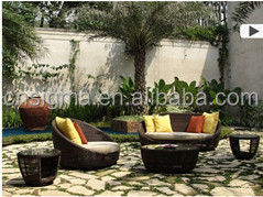 2015Hot sale white rattan garden sofa set modern hd designs outdoor furniture