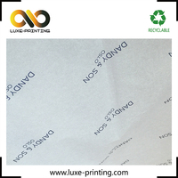 Reasonable price custom taobao printed logo watermark wrapping tissue paper