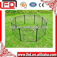 High quality galvanized dog kennel house for dog run