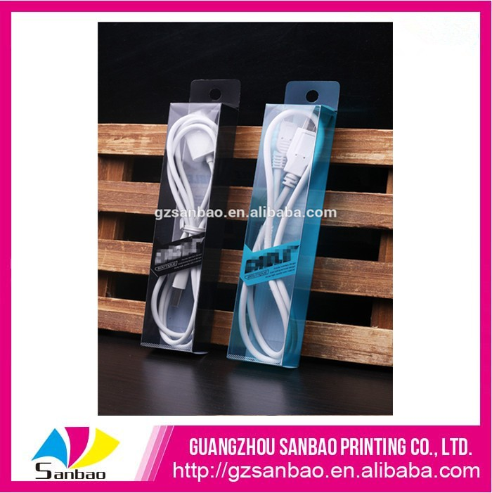2016 Hot sell clear packaging box for mobile phone accessories