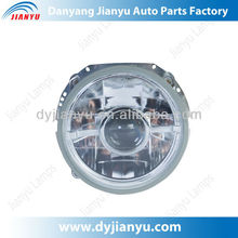 7 Inch Round Crystal Diamond Angel Eyes Projector Head Lamp,Angel Eyes Head Light JY228