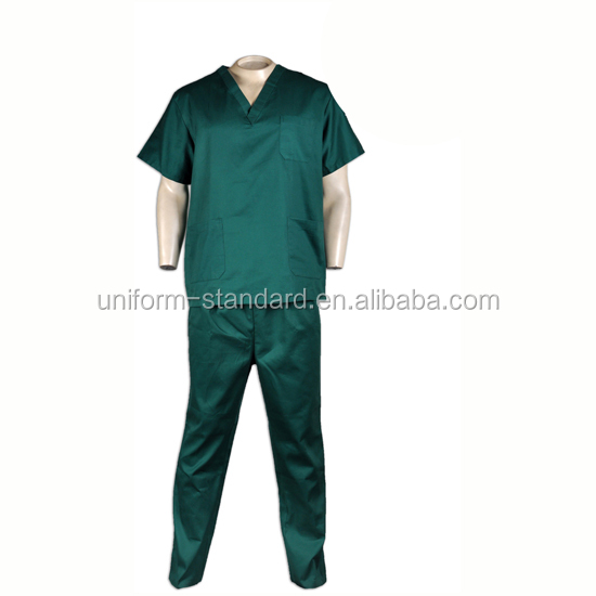 Good quality new design 100% cotton Nursing scrubs Medical unifroms Scrubs