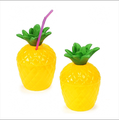 party supplies plastic pineapple cup