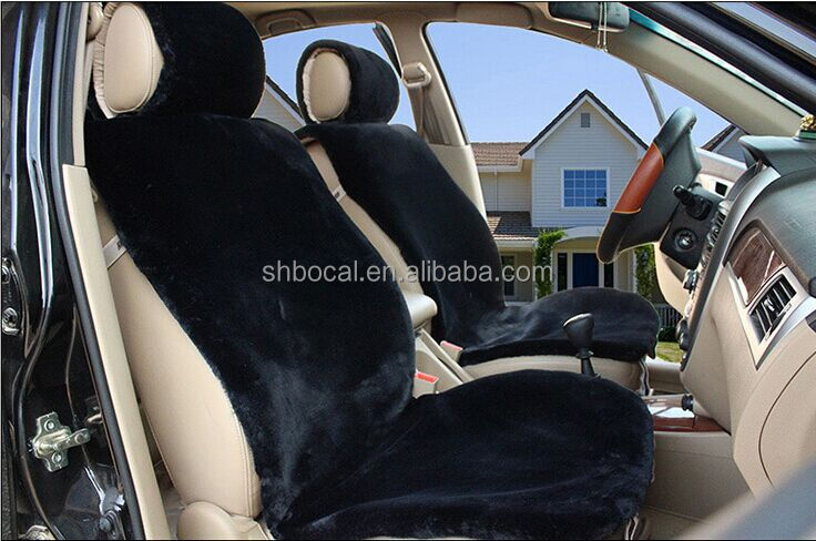 car seat cover, faux wool car seat cover, fake sheepskin car seat cover