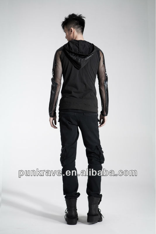 2014 Distinctive Punk Style pantspictures of trousers for men made in china K-158