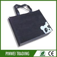 promotional fold up reuseable non woven shopping bag high quality non-woven bag