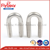 Dongming customized JIS B 2809 U bolts for pipes
