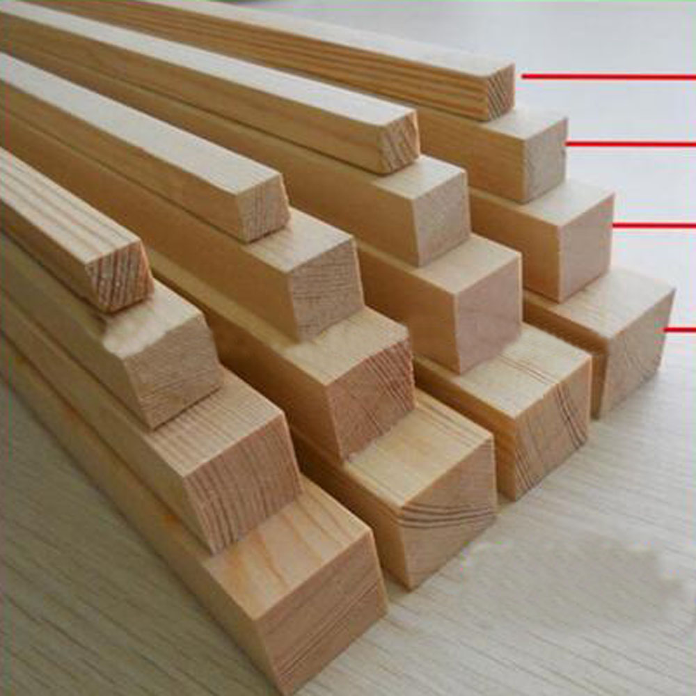 various size of pine wood finger joint board