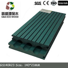2015 Europe Standard Outdoor Wood Plastic Composite Decking/WPC decking form China