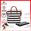 New model leather diaper tote bag Canvas bag Designer Diaper Bag(ES-Z381)