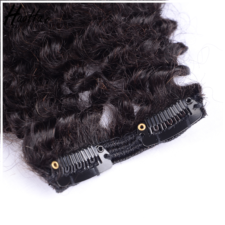 Factory Wholesale Unprocessed Wet and Wavy Hair Extension Clip On Hair Braids