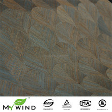 Luxury Hand Made Wallcovering Of Sisal Fibres,Natural Materials With Texture Excotic Style Of Interior Designs