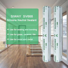 Neutral silicone sealant for interior doors
