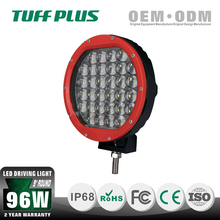 96W 9 inch led driving lamps, 96W round led driving light spot flood beam CE ROHS IP68