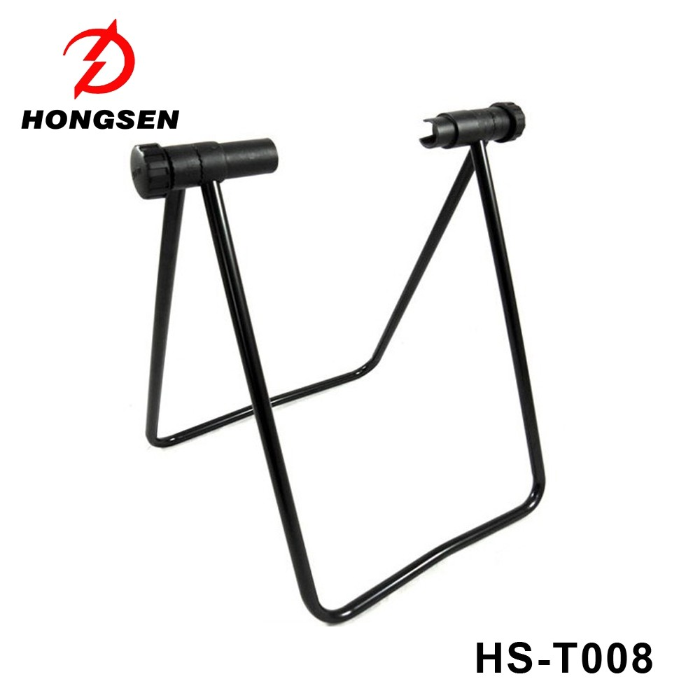 telescopic arm cycle bicycle rack Adjustable bike kick stand