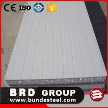 temporary building materials insulated roof and wall eps sandwich panels
