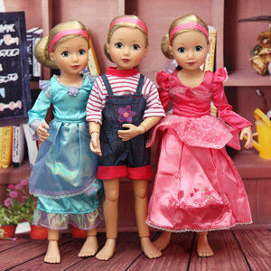 New Kawaii Joint Moveable Dolls DIY Toys for Girl Princess Doll & Body with Accessories Clothes