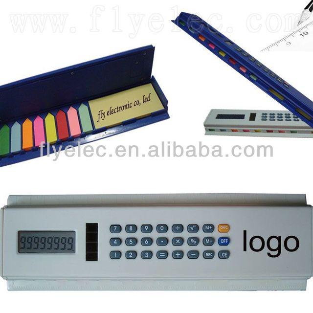 solar calculator with memo