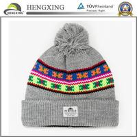 Wholesale Wool Knitted Winter Hat/Custom Knitted Hat Scarf Glove Set