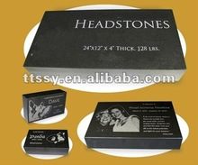 Granite Flat Top Headstone