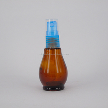 personalized perfume spray bottle amber unique shape glass cosmetics containers