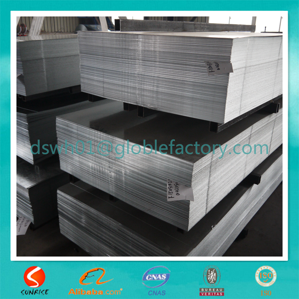 GI / HDG / HDGI zinc coated hot dipped galvanized steel sheet or steel plate