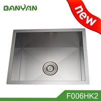 Small size hand washing double kitchen bar sink