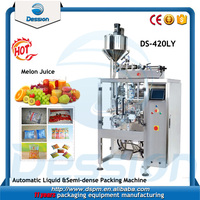 New cheap melon juice / fruit juice liquid packaging machine