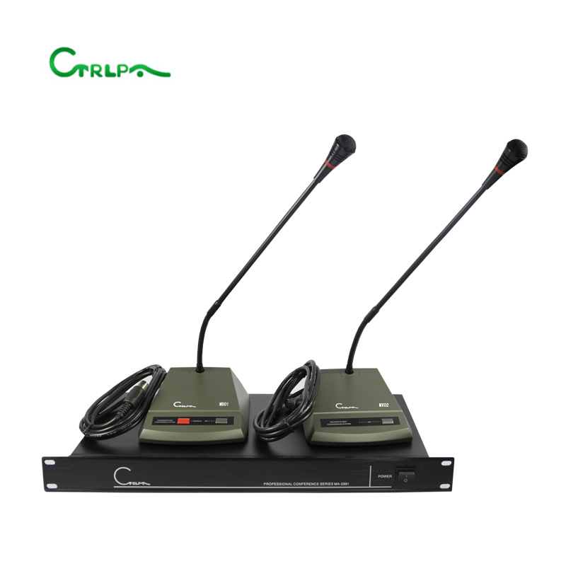 CTRLPA professional table chairman microphone and delegate microphone for conference room audio conference system
