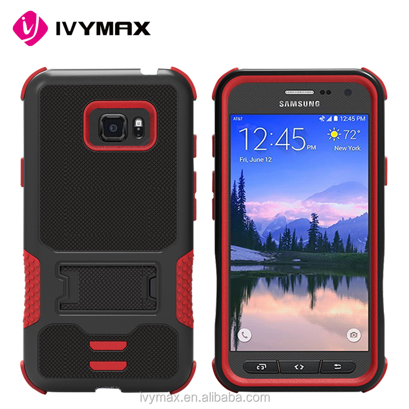 Factory wholesale price mobile phone case dual layer extreme protect cover heavy duty case for Samsung S7 active/G891