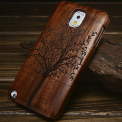 Wholesale Original Carving wood Case for Samsung Note 3 wood case