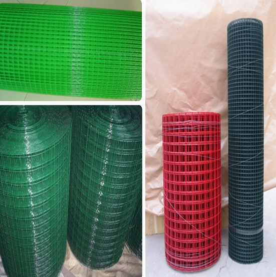 China manufaction direct sale high quality galvanized & PVC coated welded wire mesh