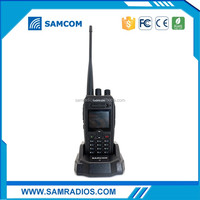 SAMCOM AP-400UV Plus 2000 mAh Amateur Radio HF Transceiver 10Km