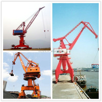 Top quality and best price four link type portal crane harbour mobile crane