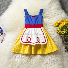 2017 autumn and winter Snow White girl girl dresses Halloween costumes